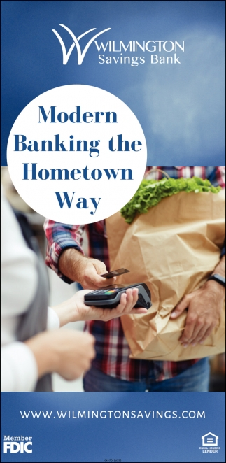 Modern Banking the Hometown Way