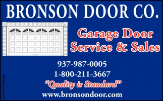 Garage Door Service & Sales