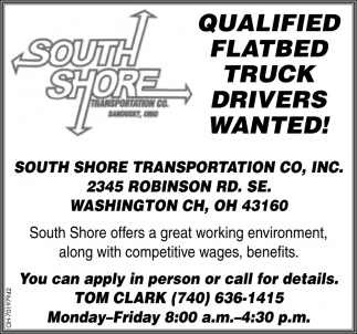 Flatbed Truck Drivers Wanted