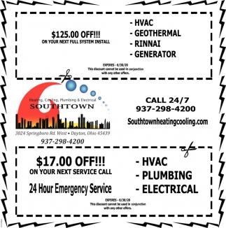 Hvac Geothermal Rinnai Southtown Heating Cooling Plumbing