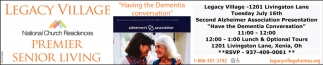 Second Alzheimer Association Presentation - Have the Dementia Conversation