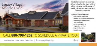 Call to schedule a private tour