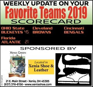 Weekly Update on your Favorite Tams 2019