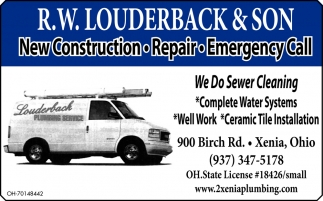 New Construction ~ Repair ~ Emergency Call