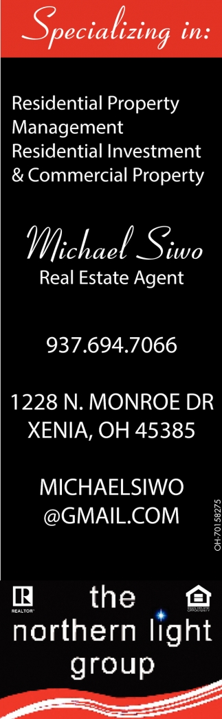Michael Siwo, Real Estate Agent