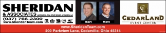 Sheridan & Associates has the proven ability to conduct real estate and/or auction business that returns the highest dollar value for you, our client.