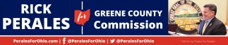 Rick Perales for Greene County Commision
