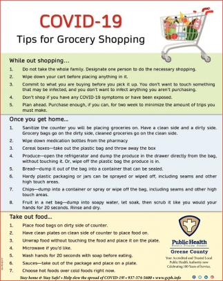 Tips for Grocery Shopping