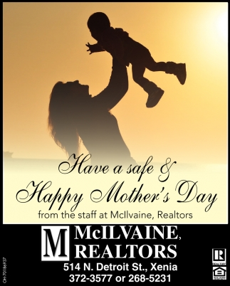 Have a Safe & Happy Mother's Day