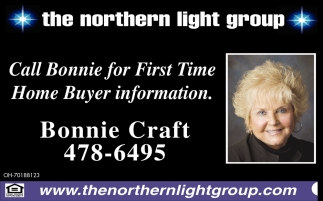 Call Bonnie for First Time Home Buyer Information