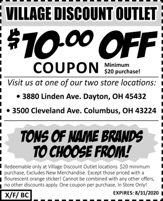 $10.00 off Coupon