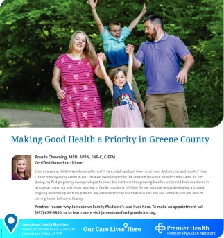 Making Good Health a Priority