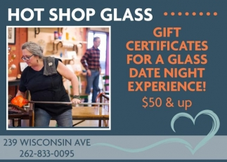 Gift Certificates For A Glass Date Night Experience