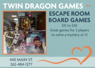 Escape Room Board Games