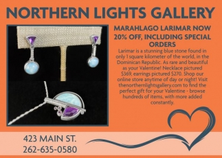Marahlago Larimar Now 20% Off, Including Special Orders
