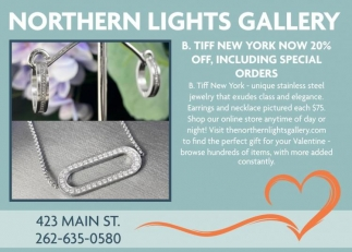 B. Tiff New York Now 20% Off, Including Special Orders