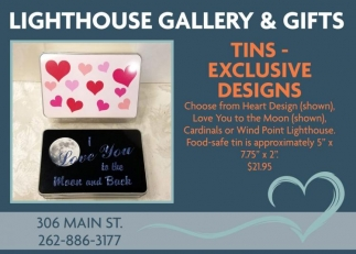 Tins - Exclusive Designs