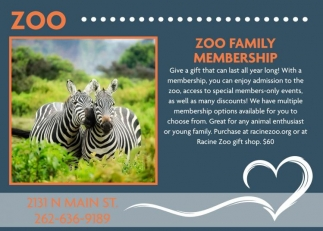 Zoo Family Membership
