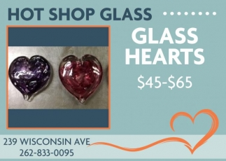 Hot Shop Glass, Dining & Entertainment in Racine