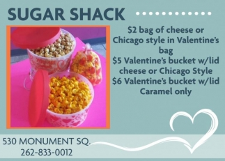 Sugar Shack, Dining & Entertainment in Racine