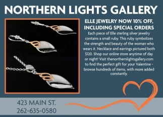 Northern Lights Gallery, Shopping in Racine
