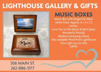 Lighthouse Gallery & Gifts, Shopping in Racine