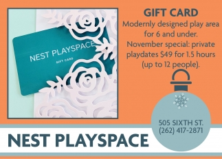 NEST Playscape, Dining & Entertainment in Racine