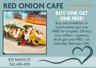 The Red Onion Cafe, Dining & Entertainment in Racine