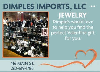 Dimple's Imports, LLC, Shopping in Racine