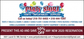tents inflatables supplies the party store bemidji mn marketplace apg mn com