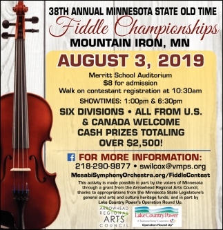 38th Annual Minnesota State Old Time