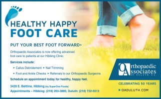 Healthy Happy Foot Care