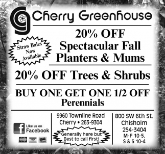 20% Off Spectacular Fall Planters & Mums