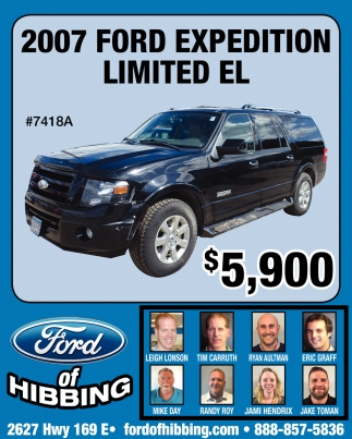 2007 Ford Expedition Limitad