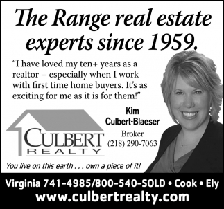 The Range Real Estate Experts Since 1959.
