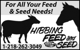 For All Your Feed & Seed Needs!