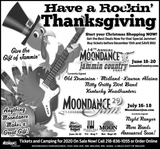Have A Rockin' Thanksgiving