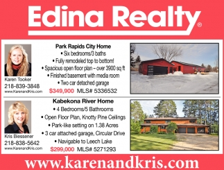 Park Rapids City Home