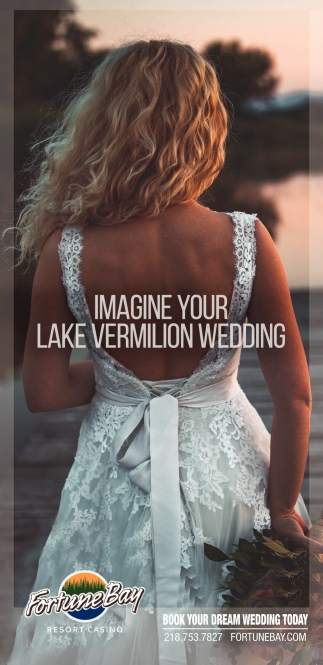 Imagine Your Lake Vermilion Wedding