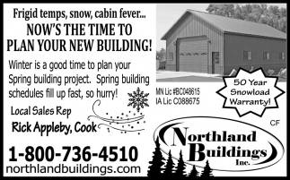 Now' The Time To Plan Your New Building!