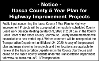 Highway Improvement Projects