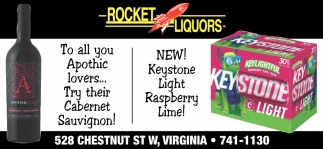 New! Keystone Light Raspberry Lime!
