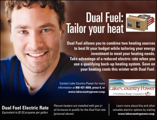 Dual Fuel: Tailor Your Heat