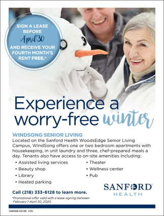 Experience A Worry Free Winter