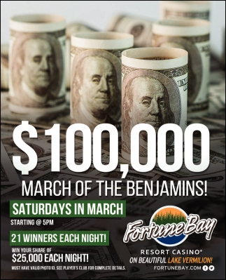 $100,000 March Of The Benjamins!