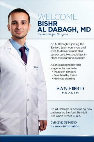 Welcome Bishr Al Dabagh, MD