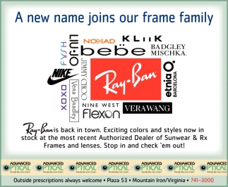 A New Name Joins Our Frame Family