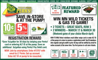 Save In Store & At The Pump!
