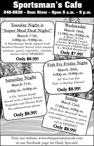 Super Meal Deal Night!