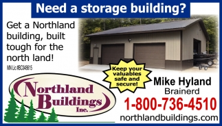 Need A Storage Building?